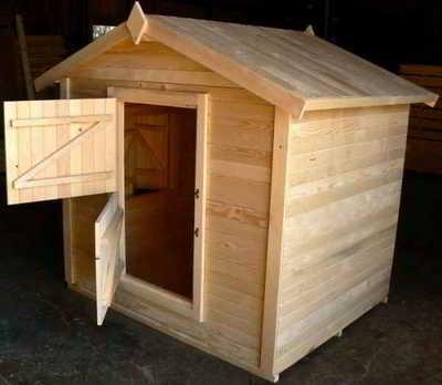 Abri de jardin pour enfant le petit loup abris pour les for Petit chalet de jardin en bois