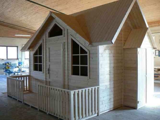 abri de jardin bois kit