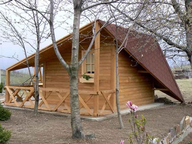 Abri de jardin en bois chamonix 16m2 abris montagnard for Prix abri de jardin bois