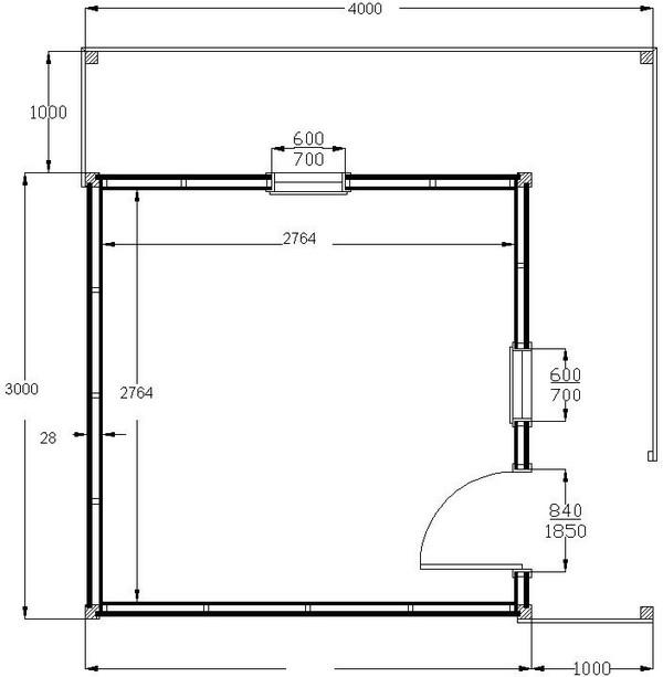 Abri de jardin en bois CHAMONIX 16m2 | ABRIS MONTAGNARD