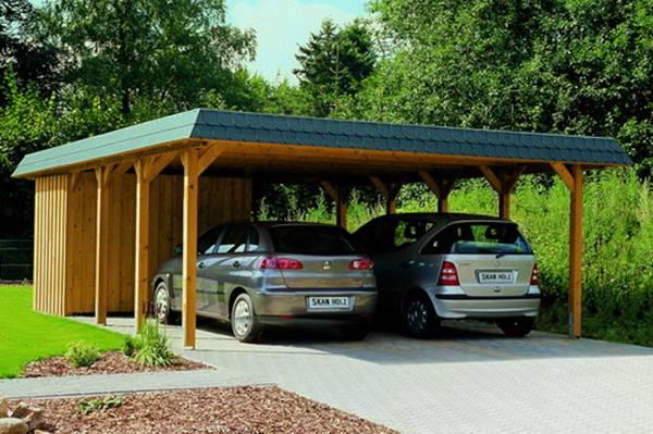 Carport pour une voiture abri auto comfort simple kit for Abri auto double costco
