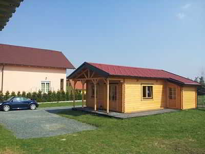 Chalet « AGEN » Surface habitable : 40.88m2