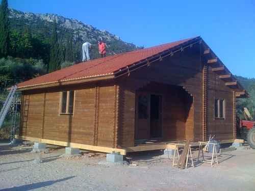Chalet abri en kit prix au tarif de chalet en kit maison bois en kit for Construction chalet bois 50m2