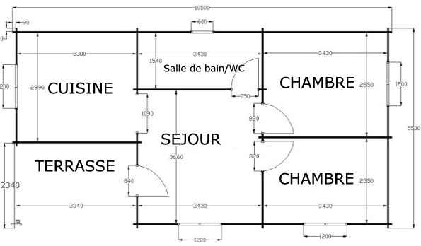 Plan de chalet joy studio design gallery best design Plan chalet