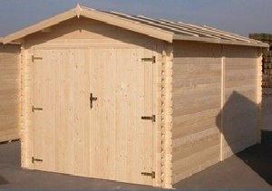 plan au sol garage bois kit plus