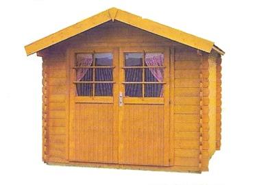 Abri bois abri de jardin en bois kit pr t monter for Petit cabanon bois