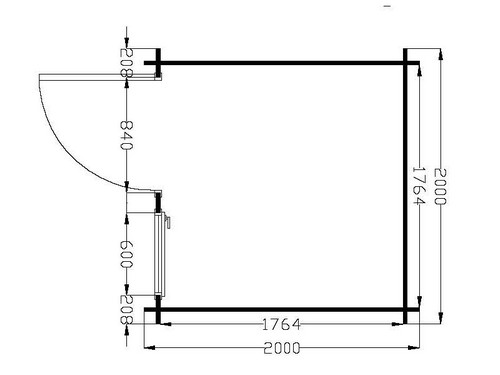 Free plan cabane de jardin bois en kit with plan de cabanon en bois - Plan cabanon de jardin ...