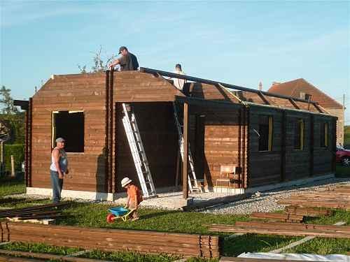 maison bois kit PLOVDIV