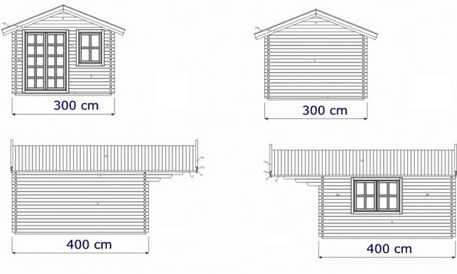plan d abris de jardin en bois plan abri de jardin bois meilleures id es cr atives pour abri. Black Bedroom Furniture Sets. Home Design Ideas