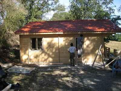 Maison bois en kit ATHOPOL environ 59.50m2 | MAISONS EN BOIS