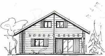 chaletabri vente chalets en kits chalets commerciaux maison en bois. Black Bedroom Furniture Sets. Home Design Ideas