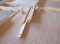 structure plancher chalet bois kit