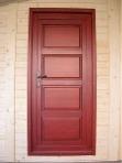 porte chalet bois kit