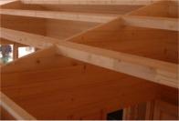 structure toit chalet bois kit