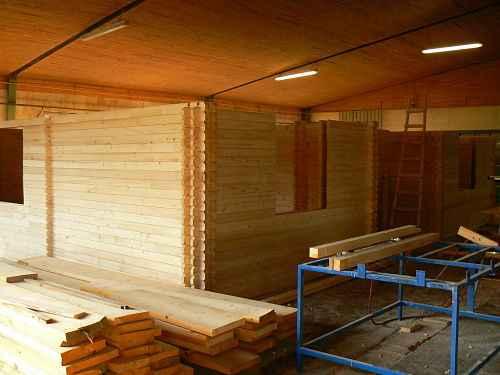 maison bois kit  albena montage en usine