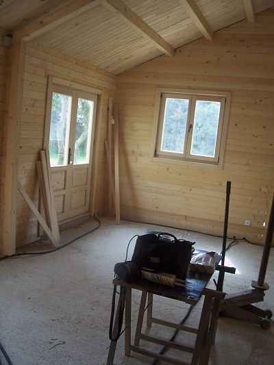 maison bois environ 90m2