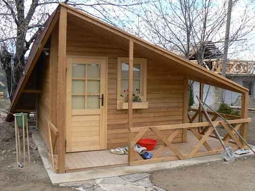 abri style montagnard Chamonix