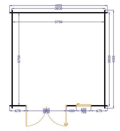 plan chalet bois kit agate